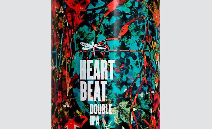 Dádiva Heartbeat versão flor