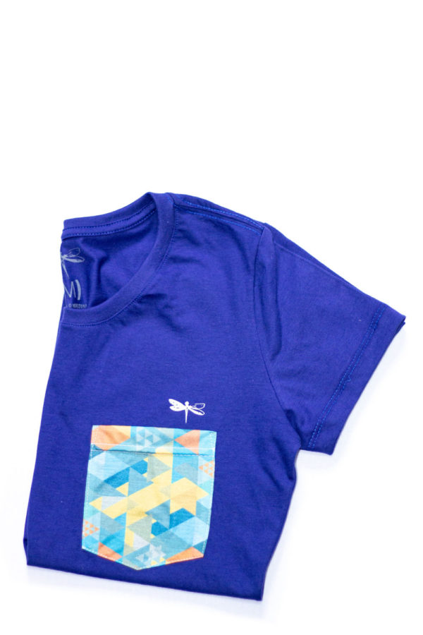 Camiseta Dádiva Venice Azul