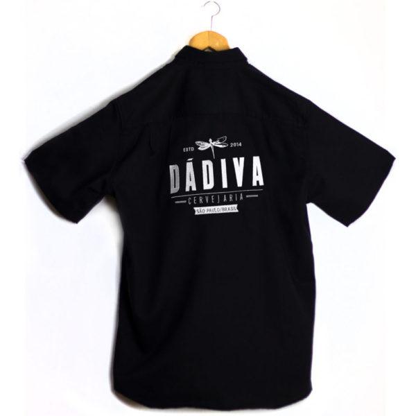 Camisa Dádiva by Dickes preta