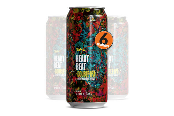 Pack com 6 Dádiva Heartbeat 473ml