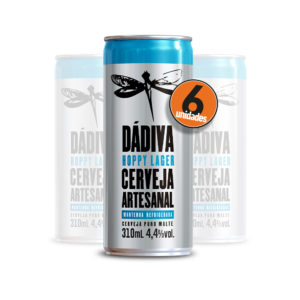 Pack com 6 Dádiva Hoppy Lager 310ml