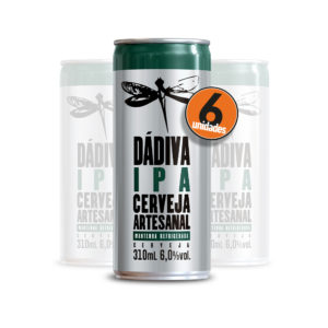 Pack com 6 Dádiva IPA 310ml