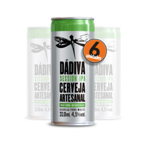 Pack com 6 Dádiva Session IPA 310ml