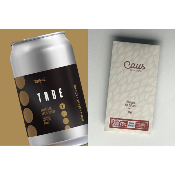 Kit True Cocoa + Caus Chocolate