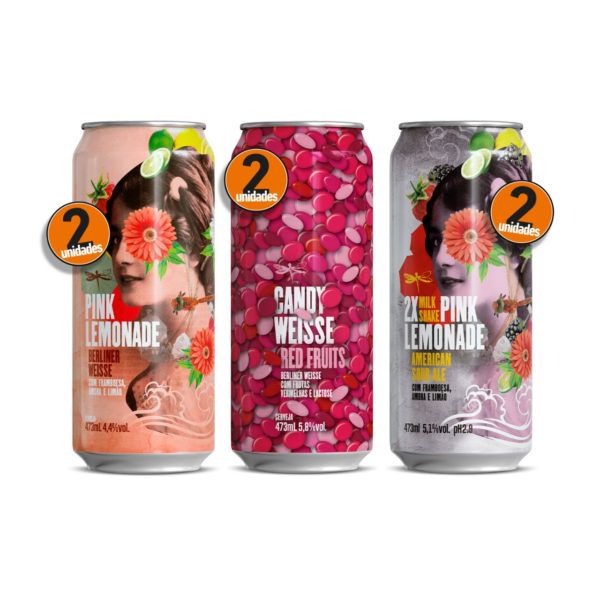 Dádiva - Pack Pink Sours